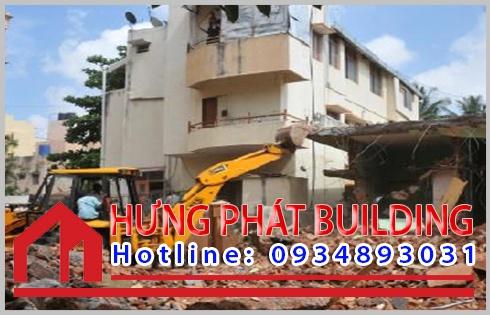Những biện pháp thi công phá dỡ nhà cao tầng an toàn ở TPHCM