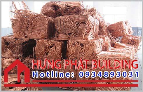 Các loại phế liệu đồng đang được thu mua số lượng lớn tại Hưng Phát.