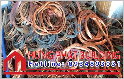 Quy trình thu mua phế liệu kim loại đồng Quận 1 ở công ty Hưng Phát.