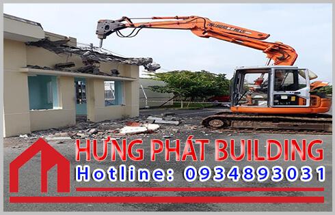 Dịch vụ mua bán xác nhà cũ huyện Cần giờ Hưng Phát.