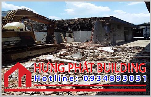 Dịch vụ mua bán xác nhà cũ huyện Nhà Bè Hưng Phát.