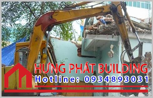 Dịch vụ mua bán xác nhà cũ Quận 5 công ty Hưng Phát.
